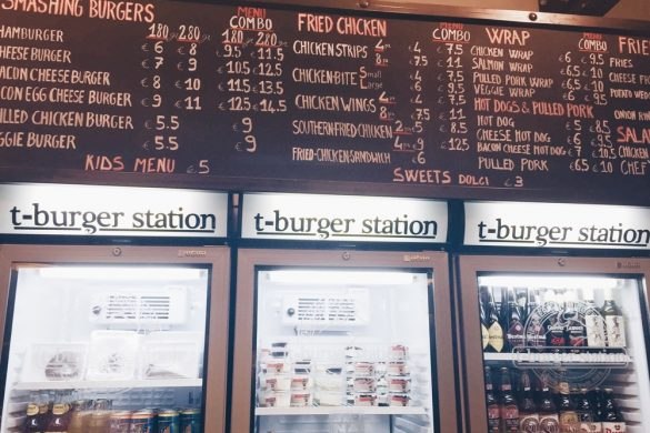 Roma: T-Burger Station