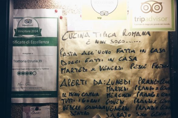 Roma: Trattoria Etruria 39