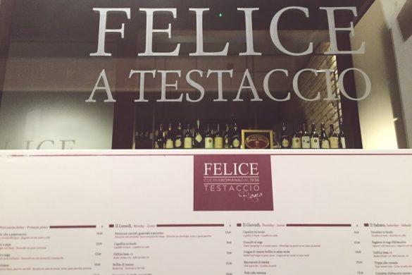 Roma: Felice a Testaccio